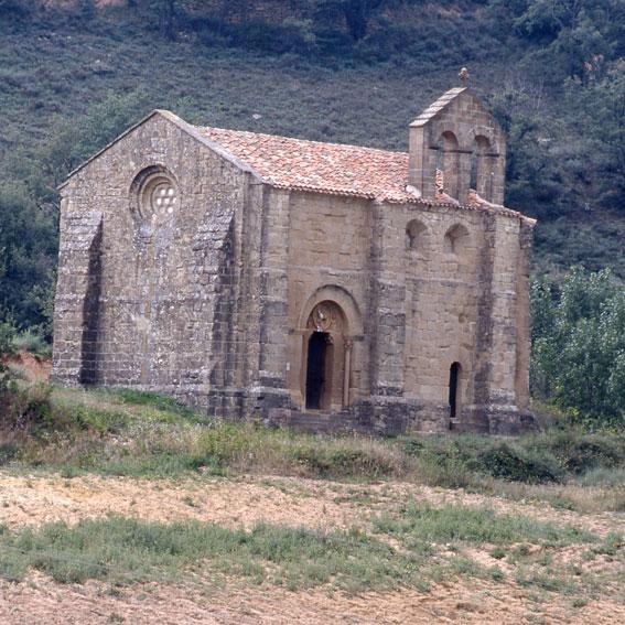 Los Amigos del Camino de Santiago de Estella. Ermita de San Bartolomé. Aguilar de Codés