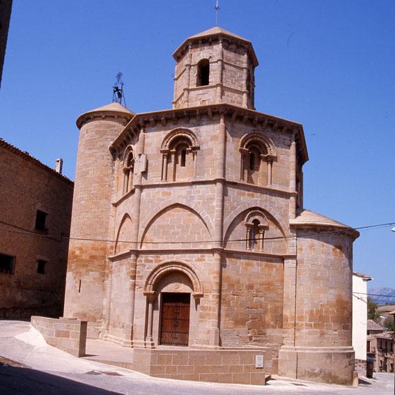 Los Amigos del Camino de Santiago de Estella. Iglesia del Santo Sepulcro. Torres del Río