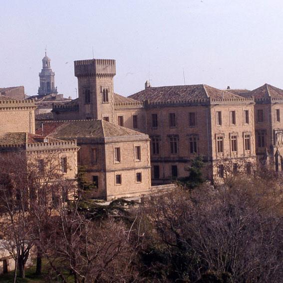 Los Amigos del Camino de Santiago de Estella. Palacio de la Vega. Dicastillo