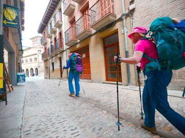 Etapa Estella - Lizarra a Los Arcos. Asociación Amigos del Camino de Santiago de Estella