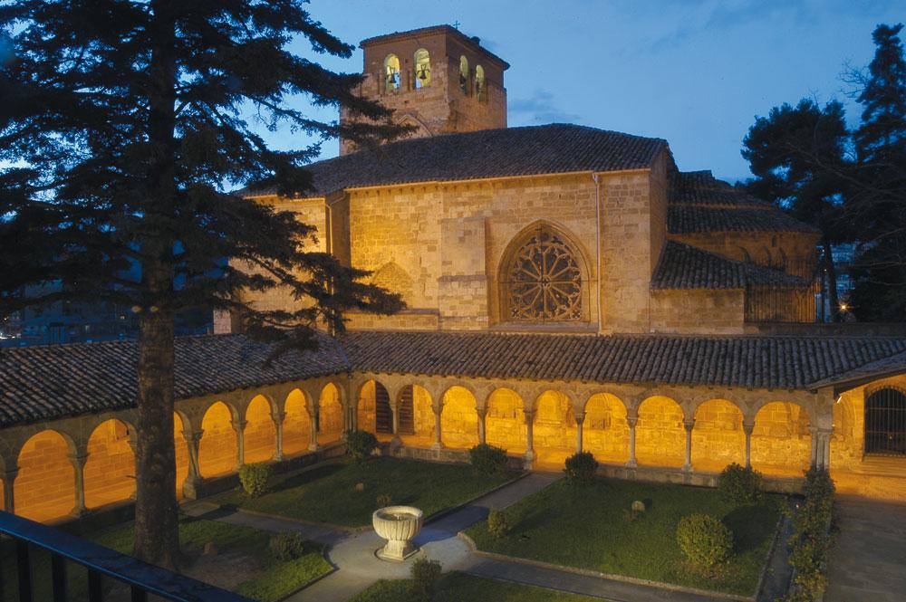 Los Amigos del Camino de Santiago de Estella. Historia del Camino. San Pedro de la Rúa