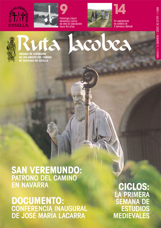 Amigos del Camino de Santiago de Estella. Revista Ruta Jacobea 01