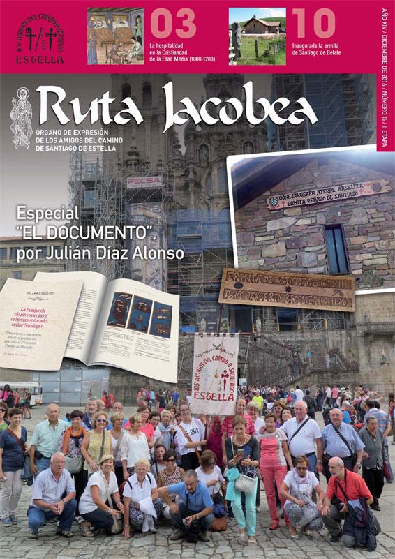 Revista Ruta Jacobea 15. Amigos del Camino de Santiago de Estella.
