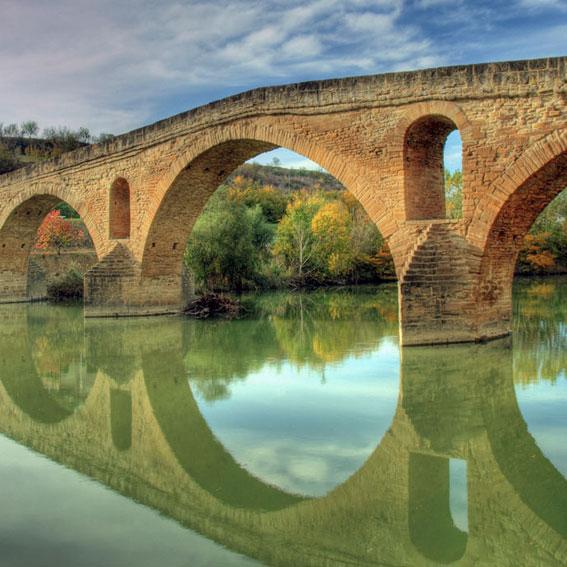 Los Amigos del Camino de Santiago de Estella. Puente la Reina - Garés