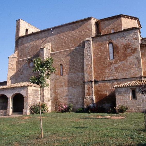 Los Amigos del Camino de Santiago de Estella. Monasterio de San Jorge. Azuelo