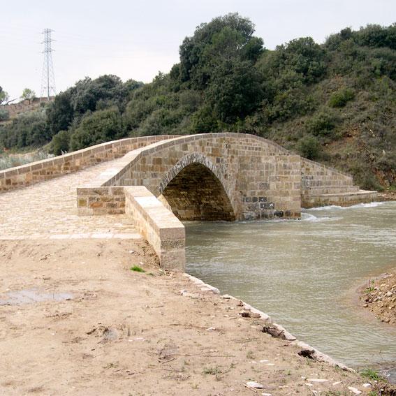 Puente Medieval de Lorca, Navarra. Asociación de Amigos del Camino de Santigo de Estella.