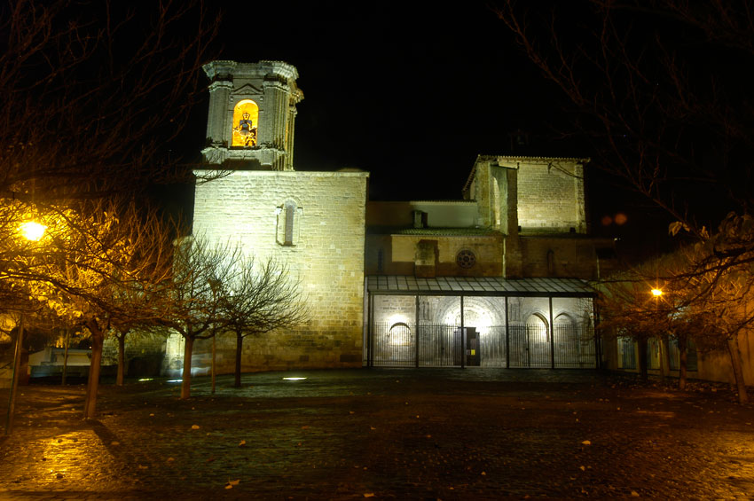Los Amigos del Camino de Santiago de Estella. Monumentos. Iglesia San Miguel