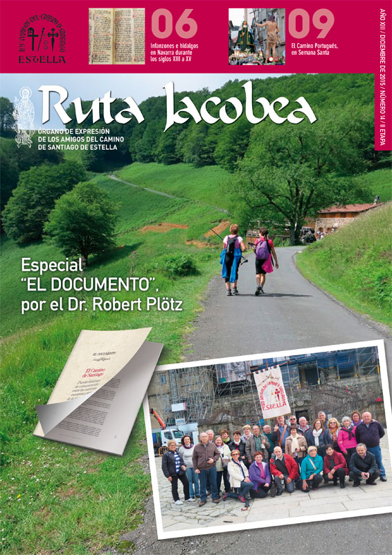 Amigos del Camino de Santiago de Estella. Revista Ruta Jacobea 13